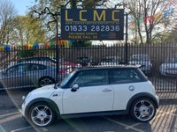 USED 2006 06 MINI HATCH COOPER 1.6 COOPER S 3d 168 BHP JOHN COOPER WORKS PERFORMANCE UPGRADE, STUNNING CREAM WHITE, BLACK LEATHER, BLACK ROOF, ROOF SPOILER, CHROME MIRROR CAPS, 18 INCH ALLOY WHEELS, AIRCON, BIG SPEC, MOT UNTIL 29/03/2020,  4 OWNERS LAST SERVICE 95393 @ 29/03/18