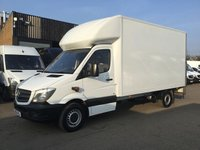 USED 2016 16 MERCEDES-BENZ SPRINTER 2.1 313CDI LWB LUTON BOX TAIL-LIFT. AIRCON. CAMERA. FINANCE. PX AIRCON. 3 WAY CAMERA. FINANCE. PX WELCOME. PX