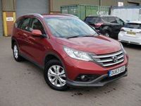 USED 2014 63 HONDA CR-V 2.2 I-DTEC SE-T 5d 148 BHP ANY PART EXCHANGE WELCOME, COUNTRY WIDE DELIVERY ARRANGED, HUGE SPEC