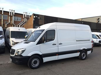 2014 MERCEDES-BENZ SPRINTER 2.1 313CDI MWB HIGH ROOF 130BHP LOW 87K. F/S/H. FINANCE. PX £9290.00