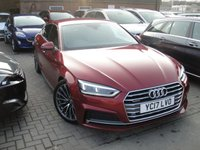 USED 2017 17 AUDI A5 3.0 SPORTBACK TDI QUATTRO S LINE 5d AUTO 215 BHP ANY PART EXCHANGE WELCOME, COUNTRY WIDE DELIVERY ARRANGED, HUGE SPEC