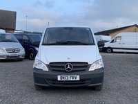 USED 2013 13 MERCEDES-BENZ VITO 2.1 113 CDI BLUEEFFICIENCY LONG LWB LWB, ONLY 48K MILES, ONE PREVIOUS OWNER, TIDY VITO