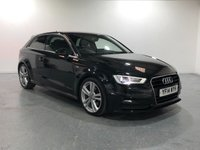 USED 2014 14 AUDI A3 2.0 TDI S LINE 3d 182 BHP 5 MAIN DEALER SERVICES  STAMP