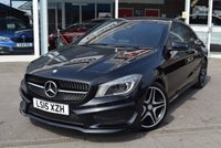 2015 MERCEDES-BENZ CLA 2.1 CLA220 CDI AMG SPORT 4d 170 BHP £17690.00