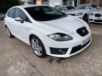 2012 SEAT LEON 2.0 CR TDI FR PLUS 5d 168 BHP £6490.00
