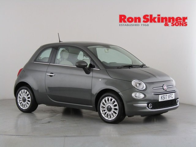 View our 2017 17 FIAT 500 1.2 LOUNGE 3d 69 BHP