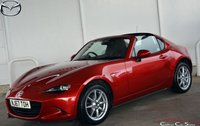 USED 2017 67 MAZDA MX-5 1.5 RF SE-L NAV ROADSTER 6-SPEED 130 BHP Finance? No deposit required and decision in minutes.