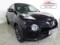 USED 2015 15 NISSAN JUKE 1.5 TEKNA DCI 5d 110 BHP Full service history, £20 Road tax, Navigation, Leather seats, Parking cameras, Cruise contol and Bluetooth.