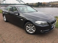 USED 2012 12 BMW 5 SERIES 2.0 520D SE 4d 181 BHP **BUSINESS NAVIGATION**