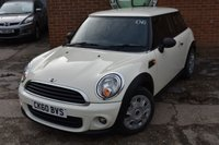 USED 2010 60 MINI HATCH ONE 1.6 ONE 3d 98 BHP WE OFFER FINANCE ON THIS CAR