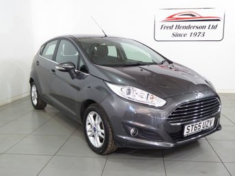 2016 FORD FIESTA 1.0 ZETEC 5d AUTOMATIC POWERSHIFT £8195.00