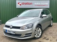 USED 2014 14 VOLKSWAGEN GOLF 1.4 SE TSI BLUEMOTION TECHNOLOGY DSG 5d AUTO 120 BHP