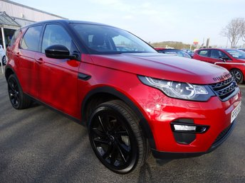 2015 LAND ROVER DISCOVERY SPORT 2.0 TD4 HSE BLACK 5d AUTO 180 BHP £26995.00