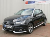 USED 2012 62 AUDI A1 2.0 TDI CONTRAST EDITION 3d 143 BHP £20 PER YEAR ROAD TAX