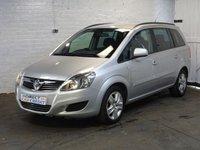 2012 VAUXHALL ZAFIRA 1.6 EXCLUSIV 5d 113 BHP £5990.00