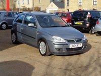2005 VAUXHALL CORSA 1.2 SXI 16V TWINPORT 3d 80 BHP £1225.00