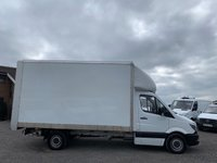 USED 2015 65 MERCEDES-BENZ SPRINTER 2.1 316 CDI 163 BHP LUTON WIDE BOX LWB BLUEFFICIENCY RARE WIDE BOX 316 LUTON, TAIL LIFT, ONE OWNER, FDSH,