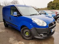 2013 FIAT DOBLO 1.2 16V SX MULTIJET 1d + 1 OWNER + FULL HISTORY +2 KEYS + VAT £3250.00