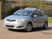 2008 TOYOTA AURIS 1.6 TR VVT-I MM 3d AUTO 122 BHP £2444.00