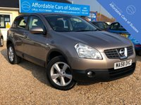 USED 2008 58 NISSAN QASHQAI 1.6 ACENTA 5 door PETROL Stunning Caffe Latte Colour and great Spec Petrol