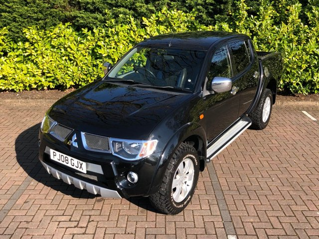 2008 08 MITSUBISHI L200 2.5 ANIMAL LWB DCB 1d AUTO 164 BHP pick up, px swap