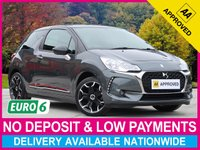 USED 2017 66 DS DS 3 1.2 PURETECH ELEGANCE 109 BHP £0 ROAD TAX CLIMATE CRUISE TOUCHSCREEN PARKING SENSORS