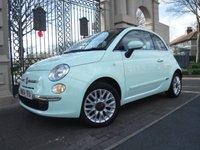 2015 FIAT 500 1.2 LOUNGE 3d 69 BHP £5995.00