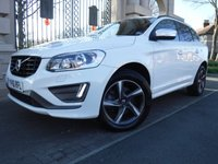 USED 2016 16 VOLVO XC60 2.0 D4 R-DESIGN NAV 5d AUTO 188 BHP *** FINANCE & PART EXCHANGE WELCOME *** DIESEL AUTOMATIC * SAT/NAV BLUETOOTH PHONE  HALF LEATHER HEATED SEATS PRIVACY GLASS