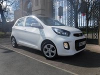 USED 2016 16 KIA PICANTO 1.0 1 5d 65 BHP ****FINANCE ARRANGED****PART EXCHANGE WELCOME***MANUFACTURERS WARRANTY 01/03/2023*1OWNER*£20TAX*USB*AUX