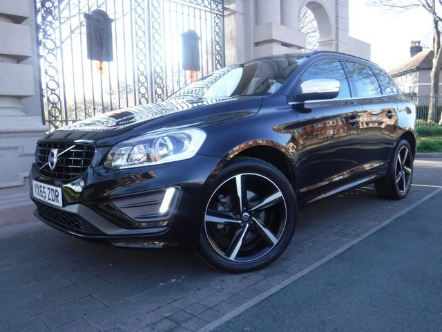 USED 2015 65 VOLVO XC60 2.4 D5 R-DESIGN NAV AWD 5d AUTO 217 BHP *FULL VOLVO SERVICE HISTORY*PART LEATHER*BLUETOOTH*DAB RADIO*HEATED SEATS*