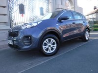 USED 2017 66 KIA SPORTAGE 1.6 1 5d 130 BHP ****FINANCE ARRANGED****PART EXCHANGE WELCOME**1OWNER*2KEYS*CRUISE*BLUETOOTH*DAB*ISOFIX*VOICE CONTROL*AUX*CD