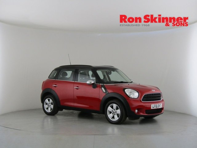View our 2016 16 MINI COUNTRYMAN 1.6 COOPER D 5d 112 BHP with Pepper Pack