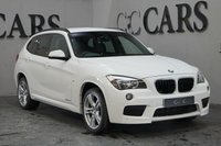 USED 2014 64 BMW X1 2.0 XDRIVE20D M SPORT 5d AUTO 181 BHP A High Spec BMW X1 with M Sport Styling, Four-Wheel Drive Capabilities and Impressive Fuel Economy. Premium Features Include; 18 Inch M Sport Alloy Wheels, Full Black Leather Interior with Anthracite Headlining, Heated Sports Seats, Front and Rear Park Distance Control, Satellite Navigation, Bluetooth Connectivity, DAB Radio, USB Interface,  Voice Control,  Automatic Headlights with Power Wash, Digital Dual Zone Climate Control, Leather Multi Function Steering Wheel, Cruise Control...