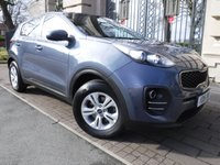 USED 2016 16 KIA SPORTAGE 1.7 CRDI 1 ISG 5d 114 BHP *FULL KIA SERVICE HISTORY*KIA WARRANTY UNTIL 2023*£30 TAX*BLUETOOTH*