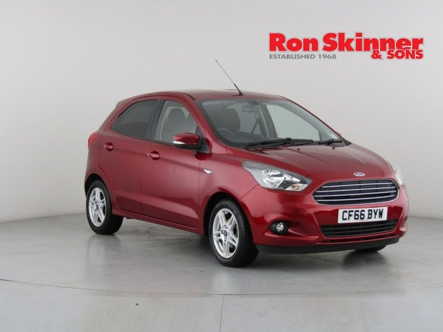 View our 2017 66 FORD KA+ 1.2 ZETEC 5d 84 BHP