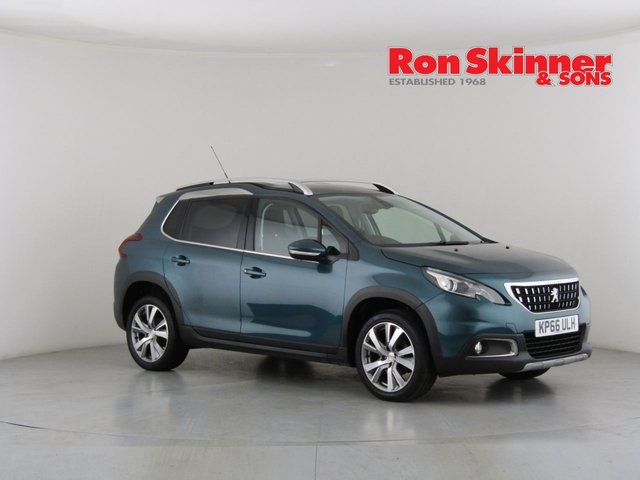 View our 2016 66 PEUGEOT 2008 1.6 BLUE HDI ALLURE 5d 100 BHP
