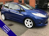 """USED 2010 60 FORD FIESTA 1.6 S1600 3d 118 BHP USB & AUX Sockets   :   Phone Bluetooth Connectivity   :   Full Black Leather Upholstery      17"""" Alloy Wheels        :        2 Keys        :        Service History"""