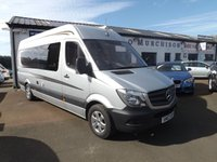 2017 MERCEDES-BENZ SPRINTER 2.1 314CDI 1d 140 BHP £49400.00