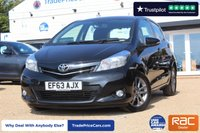 USED 2014 63 TOYOTA YARIS 1.4 D-4D ICON PLUS 5d 90 BHP