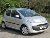 USED 2007 56 CITROEN C1 1.0 RHYTHM 5d 68 BHP PERFECT STARTER CAR