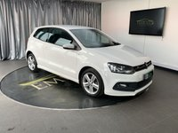 USED 2013 63 VOLKSWAGEN POLO 1.2 R LINE TSI 3d 104 BHP £0 DEPOSIT FINANCE AVAILABLE, AIR CONDITIONING, AUX INPUT, BLUETOOTH CONNECTIVITY, CLIMATE CONTROL, CRUISE CONTROL, DAB RADIO, DAYTIME RUNNING LIGHTS, HEATED DOOR MIRRORS, OPTICAL PARKING SYSTEM, TOUCH SCREEN HEAD UNIT, TRIP COMPUTER