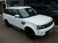 2011 LAND ROVER RANGE ROVER SPORT 3.0 SDV6 HSE LUXURY 5d AUTO 255 BHP £SOLD