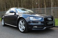 USED 2014 14 AUDI A4 2.0 TDI S LINE START/STOP 4d AUTO 148 BHP A LOW OWNER A4 WITH GOOD SPECIFICATION AND A FULL SERVICE HISTORY!!!