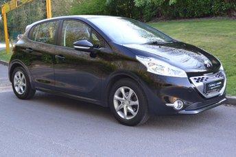 2013 PEUGEOT 208 1.4 ACTIVE E-HDI 5d AUTO 68 BHP £4395.00