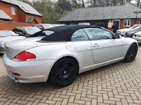 USED 2004 54 BMW 6 SERIES 4.4 645CI 2d 329 BHP FSH+LEATHER+ALLOYS+CRUISE