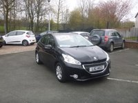 USED 2013 PEUGEOT 208 1.2 ACTIVE 5d 82 BHP