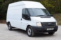 USED 2013 63 FORD TRANSIT 2.2 350 H/R 1d 124 BHP