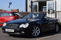 USED 2004 04 MERCEDES-BENZ SL 3.7 SL350 2d AUTO 245 BHP Full Service History With Great History Back Up.2 Keys.Full Book Pack.