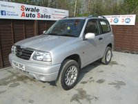 USED 2004 04 SUZUKI GRAND VITARA 1.6 SPORT 16V 3d 92 BHP FINANCE AVAILABLE FROM £18 PER WEEK OVER TWO YEARS - SEE FINANCE LINK FOR DETAILS