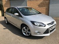 USED 2013 63 FORD FOCUS 1.6 ZETEC TDCI 5 DOOR, ONLY 1 FORMER KEEPER, 8 SERVICES ONLY 1 FORMER KEEPER, 8 SERVICES, 2 KEYS, STUNNING